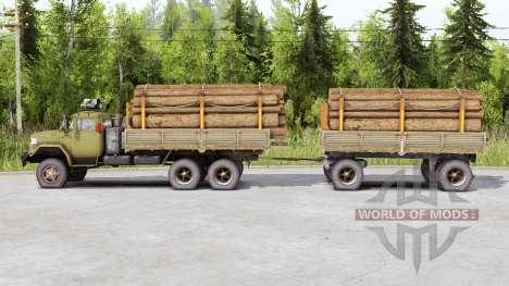 SIL 133GYA 6x6 für Spin Tires
