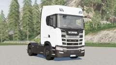 Scania S580 4x4 Highline〡 pour tirer semi-remorque pour Farming Simulator 2017