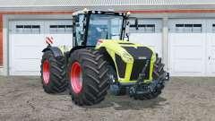 Claas Xerion 4500 Trac VC〡gelenkte Achsen für Farming Simulator 2015