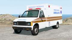Gavril H-Series Generic Ambulance v2.0 pour BeamNG Drive