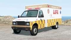Gavril H-Series Life EMS Ambulance v2.0 für BeamNG Drive