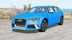 Audi RS 6 Avant (C7) 2013 pour BeamNG Drive