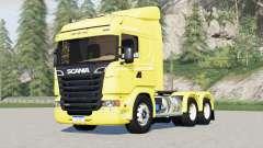 Scania R440 Streamline 6x2〡6x4 tracteur Highline pour Farming Simulator 2017