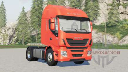Iveco Stralis Hi-Way 2-axis, 3-axis, 4-axis tractor 2015 pour Farming Simulator 2017