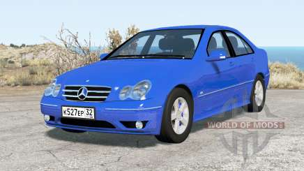Mercedes-Benz C 320 (W203) 2004 v2.0 pour BeamNG Drive