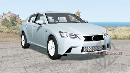 Lexus GS 350 F Sport (L10) 2012 für BeamNG Drive