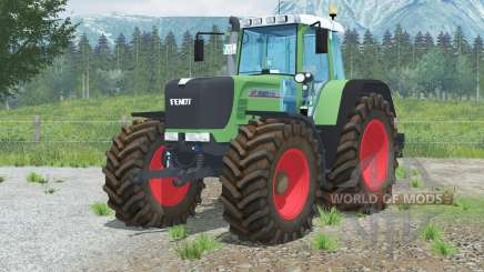 Fendt 926 Vario TMS〡hippie vert pour Farming Simulator 2013