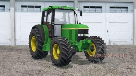 John Deere 6100〡dust des roues pour Farming Simulator 2015