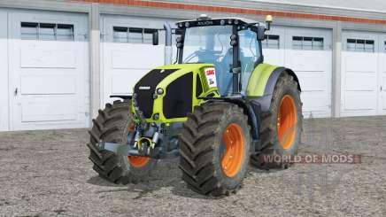 Tableau de bord Claas Axion 950〡animé pour Farming Simulator 2015