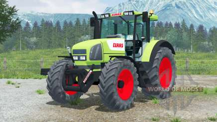 Claas Ares 826 RZ〡yellow vert pour Farming Simulator 2013