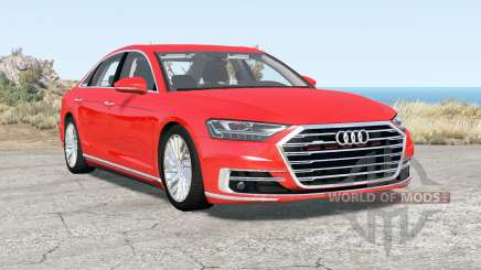 Audi A8 (D5) 2017 pour BeamNG Drive