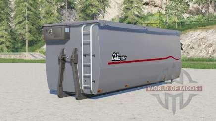 Peecon hooklift auger container für Farming Simulator 2017