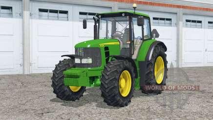 John Deere 6430 twin wheels pour Farming Simulator 2015