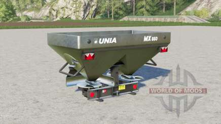 Unia MX 850〡1000〡1200 pour Farming Simulator 2017