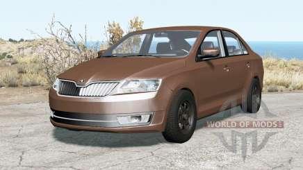 Skoda Rapid 2012 pour BeamNG Drive