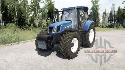 New Holland T6.175 pour MudRunner