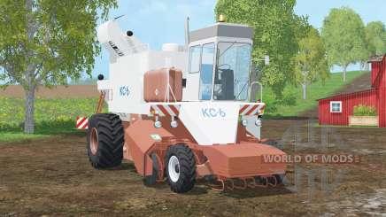 KC-6〡 Kartoffel〡sacamed Rote Bete für Farming Simulator 2015
