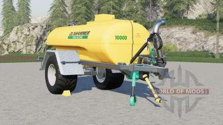 Zunhammer TS 10000 KE schleudertankwagen pour Farming Simulator 2017