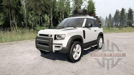 Land Rover Defender 90 D240 SE Adventure 2020 für MudRunner