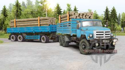 SIL 133GYA 6x6 pour Spin Tires