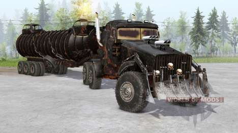 The War Rig pour Spin Tires