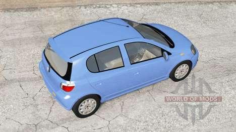 Toyota Vitz RS 5-door 2000 pour BeamNG Drive