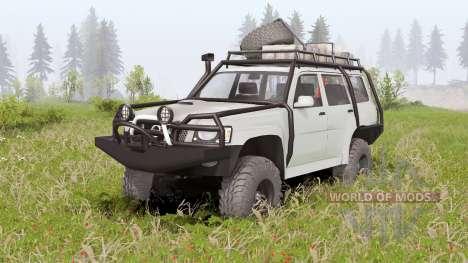 Nissan Patrol GU 5-door (Y61) 2004 für Spin Tires