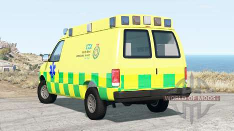 Gavril H-Series Ambulance pour BeamNG Drive