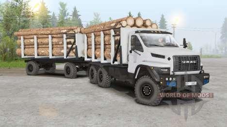 Ural Next 6x6.1 (4320-6952-72E5G38) pour Spin Tires