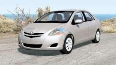 Toyota Yaris sedan 2007 pour BeamNG Drive