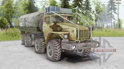 Ural 6614 8x8 für Spin Tires