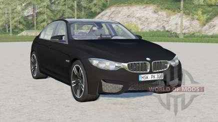 BMW M3 (F80) 2015〡Unmarkierte Polizei für Farming Simulator 2017