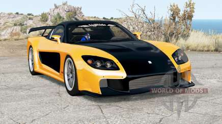Mazda RX-7 VeilSide Fortune pour BeamNG Drive