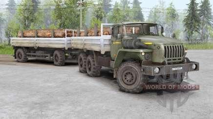 Ural 4320, 5453, 5557, 6614, 43206, 44202 für Spin Tires
