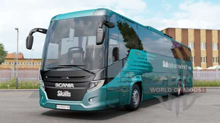 Scania K410 Touring HD v1.1 pour Euro Truck Simulator 2
