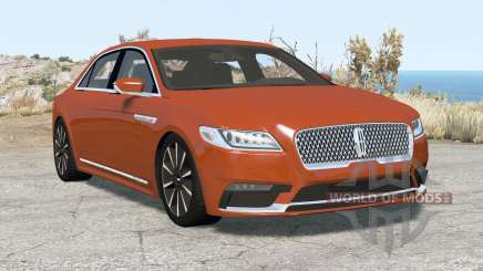 Lincoln Continental 2017 pour BeamNG Drive