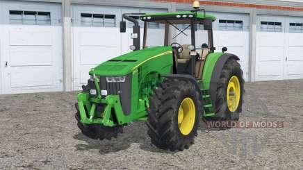 John Deere 8370R〡Reifenspuren für Farming Simulator 2015