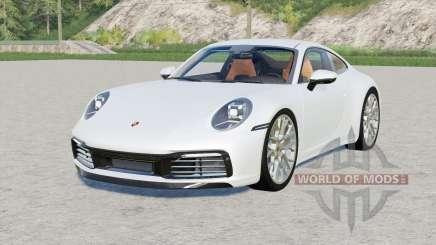 Porsche 911 Carrera 4S (992) 2019 für Farming Simulator 2017