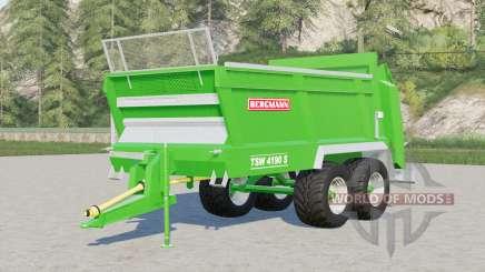 Bergmann TSW 4190 S universal spreader für Farming Simulator 2017