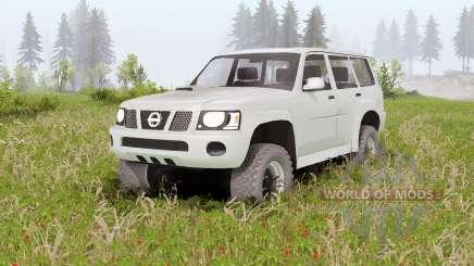 Nissan Patrol GU 5-door (Y61) 2004 pour Spin Tires