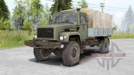 Gaz 3308 Sadko und Gaz 33081 Ranger für Spin Tires