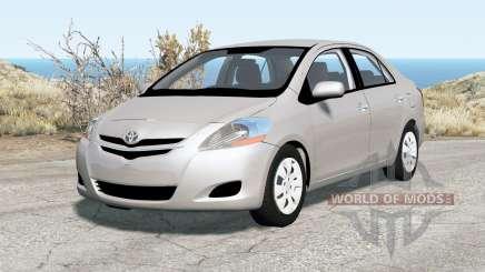 Toyota Yaris sedan 2007 für BeamNG Drive