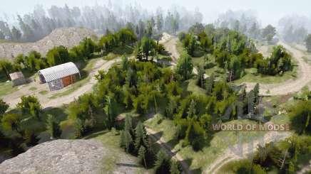 Forêt de Shina pour MudRunner