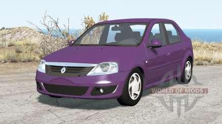 Renault Logan 2010 v2.0 pour BeamNG Drive
