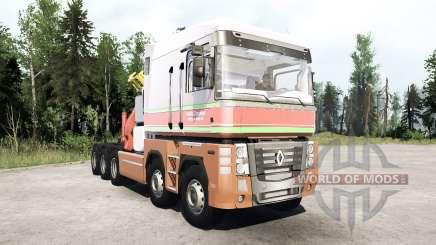 Renault Magnum 10x10 Barelds Transport pour MudRunner