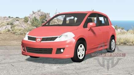 Nissan Versa hatchback (C11) 2010 pour BeamNG Drive