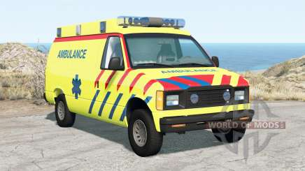 Gavril H-Series Ambulance pour BeamNG Drive