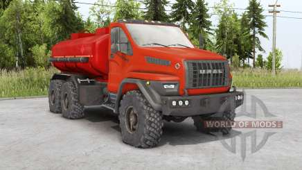 Ural Next 6x6.1 (4320-6952-72) 2018 pour Spin Tires