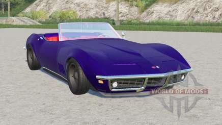 Chevrolet Corvette convertible (C3) 1968 pour Farming Simulator 2017