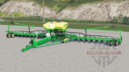John Deere DB60〡 avec fert liquide et herbicide pour Farming Simulator 2017